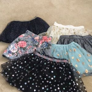 Girls bundle of skirts size 4T. Great condition